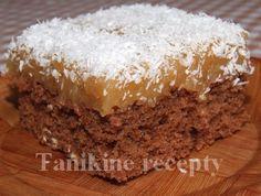Kakaovo - jablkové rezy Sweet Cakes, Vanilla Cake, Nova