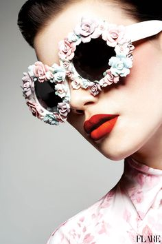 Flower Power - March 2012 / Editor: Carlene Higgins / Art Director: Tanya Watt / Photographer: Chris Nicholls