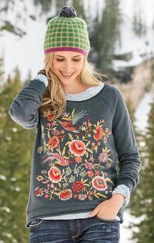 Sundance - Eden Sweatshirt, Bright Spot Hat