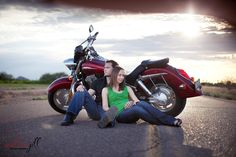 creative enagement shots with motorcycle | recently got the chance to shoot my sister's family on one of their ...