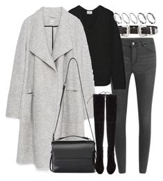 """""""Untitled #7639"""" by nikka-phillips ❤ liked on Polyvore featuring B-Low the Belt, Cheap Monday, Acne Studios, Zara, AllSaints, Stuart Weitzman and ASOS"""