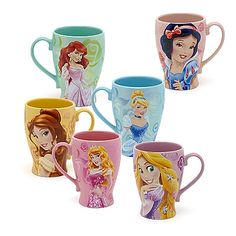 Disney Princess Glamorous Fashion - Belle | Disney Princess Shimmer Mug Collection