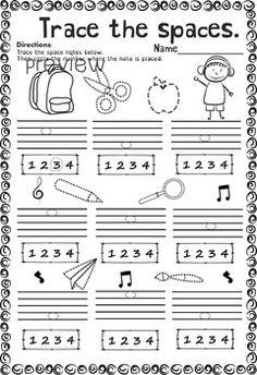 fall music worksheets pack line space high low music worksheets. Black Bedroom Furniture Sets. Home Design Ideas