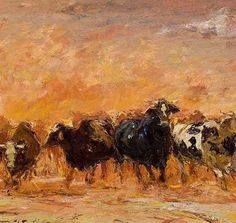 🖼️ Cattle Herders 🎨 Adriaan Boshoff