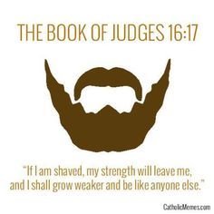 Beard and Bible