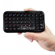 $9.80 Mini Ultra Slim Wireless Bluetooth Keyboard for iPad/iPhone 4.0 OS PS3
