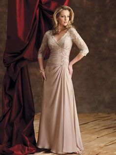 mother of the bride, this is beautiful - now I think if it was the right color mom would love it.