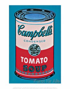 Andy Warhol - Campbell's Soup Can (Tomato)