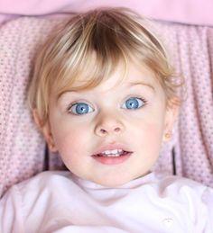 laloylila Lovely Eyes, Pretty Eyes, Beautiful Children, Beautiful Babies, Toddler Fashion, Kids Fashion, Cute Kids, Cute Babies, Kids Girls
