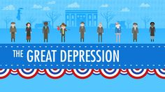 """Use as an introduction to setting for TKaM: """"The Great Depression: Crash Course US History #33"""" with John Green"""