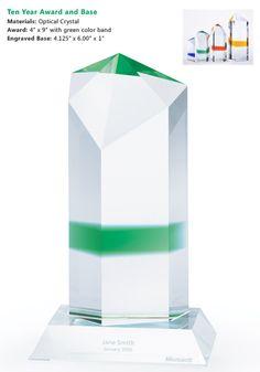 Microsoft 10 Year Service Award