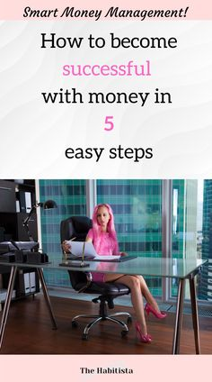 Learn the easy way to become successful with money and implement successful money habits. This is how you get the finances you want and deserve! smart money | money saving ideas | organize finances | personal finance blog How To Become Successful, How To Become Smarter, Life Values, Finance Organization, Finance Blog, Managing Your Money, Financial Success, Saving Ideas, How To Better Yourself
