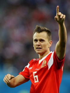 Denis Cheryshev of Russia 2 matches = 3 goals