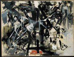 Emilio Vedova - Crocefissione contemporanea 1953 (dal Ciclo della Protesta '53) Collezione Peggy Guggenheim