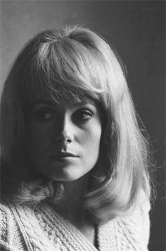 Catherine Deneuve is the face of perfection.