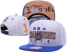 outlet store 7bb97 3ebc2 Golden State Warriors 2015 NBA Champions Adidas White Locker Room Snap Back  Hat