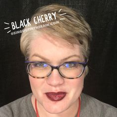 Limited Edition Black Cherry LipSense by SeneGence is a cool color. You can view it on people, look at combos or comparisons or even in a collage.  However, nothing rivals seeing it on a real person.  Click to purchase yours NOW!  #lipsense #senegence