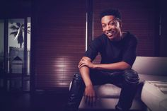 Singer/Actor/Songwriter/Dancer - Jacob Latimore is all smiles at his exclusive cover shoot with Pure DOPE Magazine at the Mobli Beach House on Venice Beach.