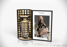 Objets de Convoitises - Design Packaging and Retail Pos Display, Counter Display, Product Display, Display Ideas, Makeup Display, Cosmetic Display, Balmain, Pos Design, Perfume Display