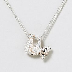 Koala Bear Necklace- Similar necklace I own only in gold that has fond vacation memories attached to it