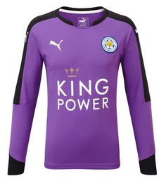 f68446966 Leicester City FC (England) - 2015 2016 Puma Goal Keeper Shirt Leicester  Football