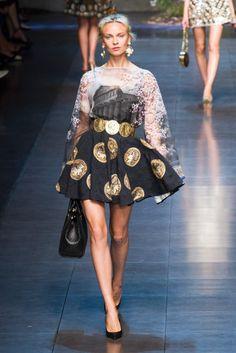 #fashionweek | Dolce & Gabbana Spring 2014 runaway show