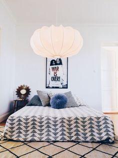 Överkast Afroart 250x270 ormbunke Master Bedroom, Bedroom Decor, Bedroom Ideas, Bed Back, Interior Decorating, Interior Design, Dream Apartment, Take Me Home, Scandinavian Interior