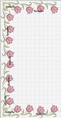 Beautiful floral/autumn cross stitch embroidered tablecloth in white linen from Sweden Cross Stitch Pillow, Cross Stitch Heart, Cross Stitch Borders, Cross Stitch Flowers, Cross Stitch Designs, Cross Stitching, Cross Stitch Embroidery, Cross Stitch Patterns, Bobble Stitch