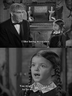 The Addams family - Lurch and Wednesday Addams