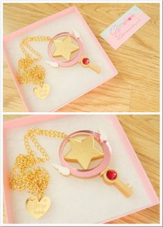 Cardcaptor Sakura kagi necklace I want this one! Sakura Kinomoto, Syaoran, Teen Titans, Kawaii Wigs, Sakura Card Captor, Steven Universe, Xxxholic, Kawaii Jewelry, Clear Card