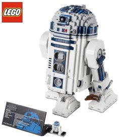LEGO R2D2 STAR WARS - Ultimate Collector Series -  este es el que tenemos en la agencia :)