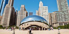 """The Windy City: Was Chicago zu bieten hat. """"The Bean"""" im Millenium Park."""