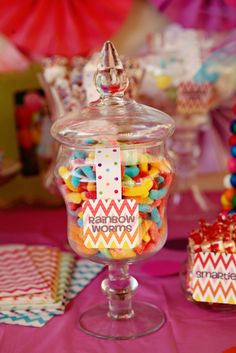 Rainbow Birthday Party Ideas | Photo 2 of 18 | Catch My Party