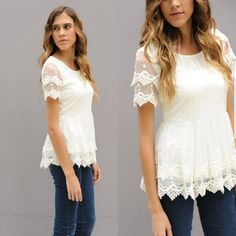 ad My very favorite dressy top! I always get so many compliments on this top and it's super comfortable! Under $29 shipped