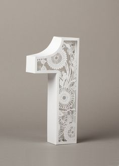 """dimensional illustration """"Number One by Lo Siento Stud…"""" on Designspiration"""