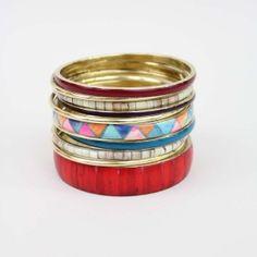 multi-color bangles