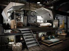 Galleria foto - Come arredare un Loft in stile Industriale Foto 8