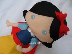 branca de neve boneca de feltro - Pesquisa Google