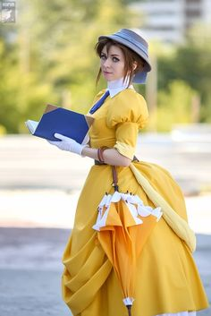 Awesome Disney Cosplay  It's like she sprang out from the animation into the real world.