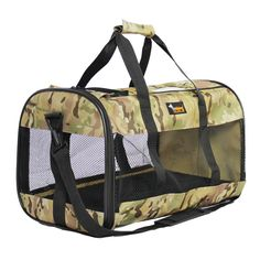 Ondoing Cat Carriers Soft Sides Handbag Small Dog Outdoor Bag Purse Pet Kennel Cage for Cab,Driving,Traveling,Airline *** For more information, visit image link. (This is an Amazon affiliate link)