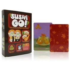 Sushi Go // Price: $13.95 & FREE Shipping //  We accept PayPal and Credit Cards.    #gameronboard #boardgame #cardgame #game #puzzle #maze #toys #chess #dice #kendama #playingcards #tilegames