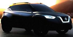 Is this Nissan Juke Successor? - Nissan re-released latest teaser photos new compact crossover concept ahead of its debut at the motor show Brazil that has