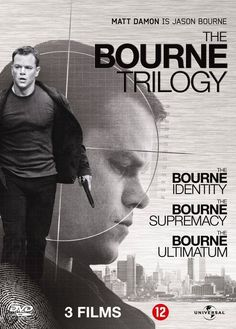Bourne Trilogy Jason Bourne is just so B.A that there's no way you can't be entertained when watching any one of the Matt Damon  Bourne movies.