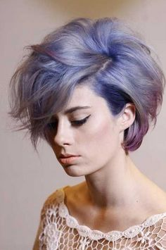 Give your hair a fun flair w/ this super hot trending hair color. Lavender hair is all the rage from popular celebrities like Nicole Richie to Kelly Osbourne.