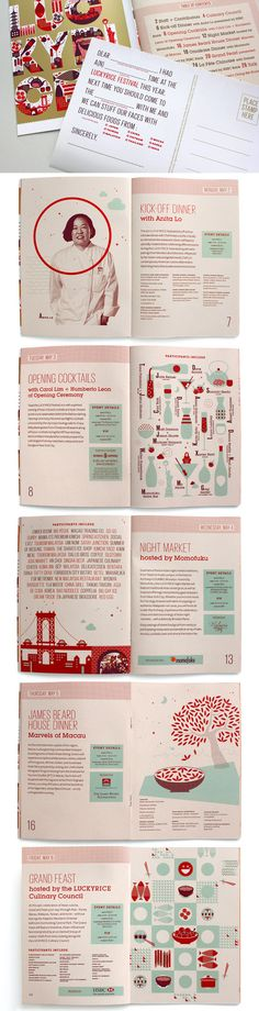 Design for the LuckyRice Festival by Parliament of Owls, Lauren Sheldon and Meg Paradise.