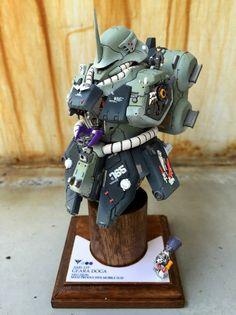 "Custom Build: HGUC 1/144 Geara Doga ""Bust Model"" - Gundam Kits Collection News and Reviews"