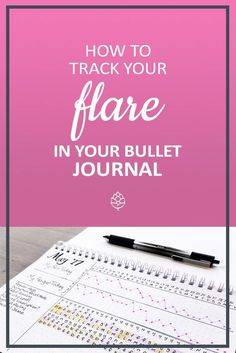 A flare symptom tracker for BUJO/ Bullet Journal for anyone with a chronic illness! Track pain, fatigue, sleep patterns, medications and more. Great for anyone with lupus, fibromyalgia, RA and other illnesses that flare up. Check out the blog post for a FREE printable!