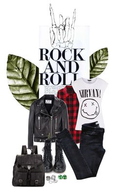 """Rock me baby"" by sanja1992 on Polyvore featuring Acne Studios, Vanessa Bruno Athé, Proenza Schouler and Pieces"