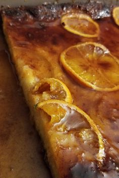 """Portokalopita (Greek Orange Phyllo Cake) 