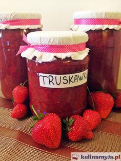 Konfitura z truskawek bez dodatku zagęszczaczy